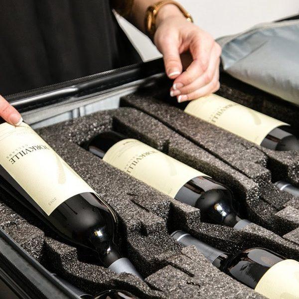 Луксозни куфари за транспортиране на вино VinGarde Valise